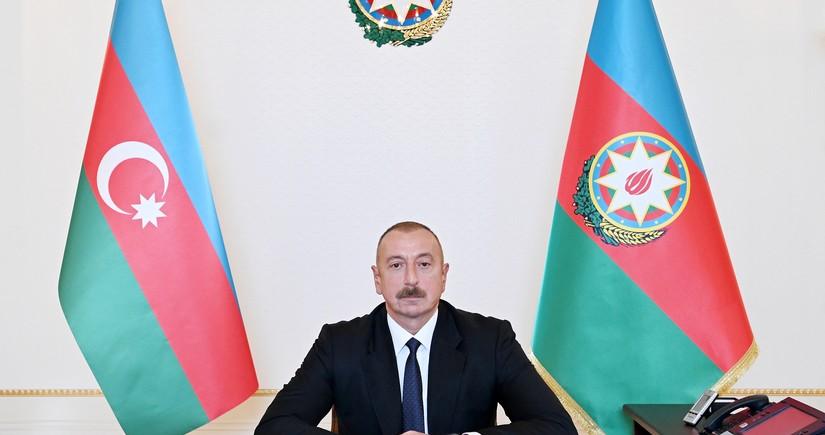 Президент Азербайджана:Были дни, когда на Тертерский район падало 2 000 снарядов