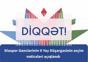 Participants in 2nd Summer Camp Nasimi 650 of Azerbaijan Diaspora Youth selected