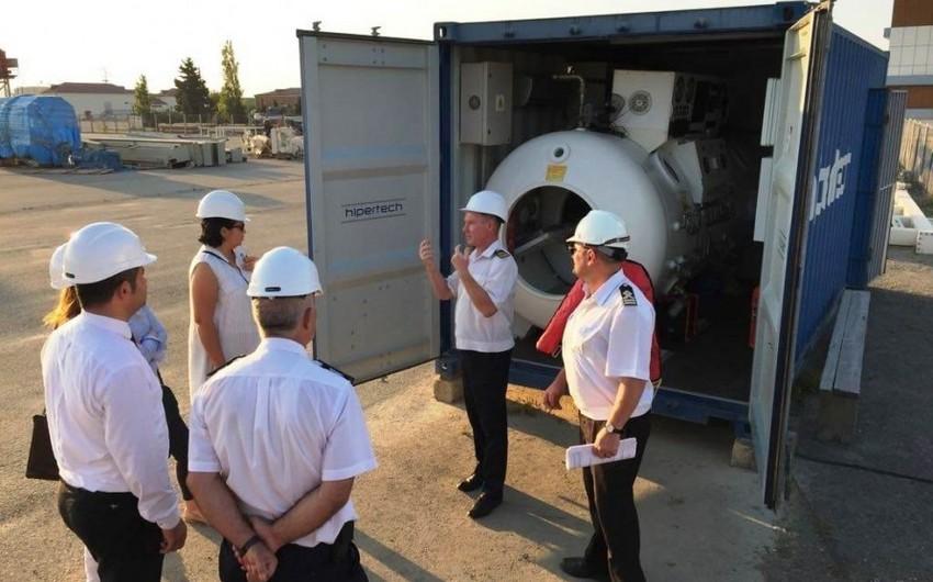 """""""Gazprom Neft""""in nümayəndələri SOCAR-ın təlim mərkəzləri ilə tanış olublar"""