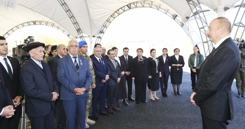 Президент Азербайджана: Спустя много лет мы все испытали радость этой Победы