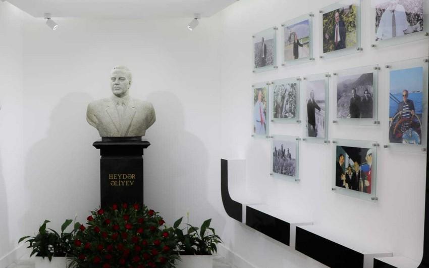 ETSN-nin kollektivi ulu öndər Heydər Əliyevin xatirəsini yad edib