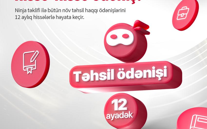 """""""BirKart"""" sahibləri təhsil haqlarını hissələrlə ödəyə bilərlər"""