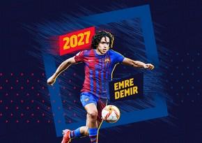 Barselona türkiyəli futbolçunu transfer edib
