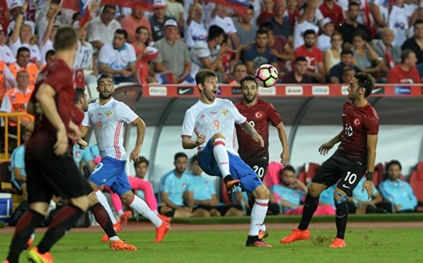 Футболисты сборной России сыграли вничью с турками