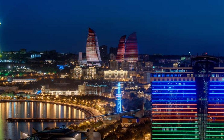 National Geographic Bakını gecə həyatı üçün ən yaxşı şəhərlər onluğuna daxil edib