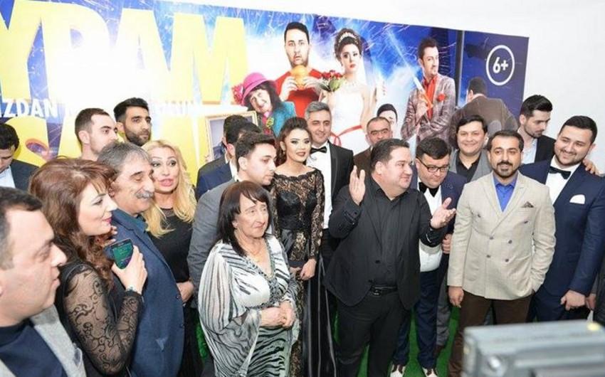 Murad Dadaşov ilk komediya filmi Bayram axşamının uğurlu təqdimatını keçirib - VİDEO