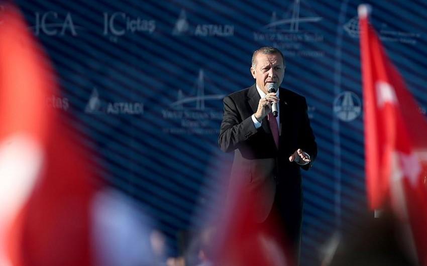 Rəcəb Tayyib Ərdoğan: Türkiyə hədəflərinə doğru addım-addım irəliləyir