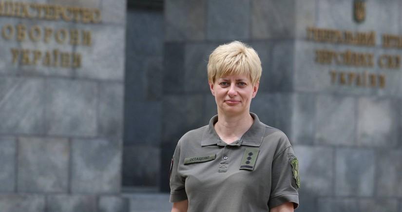 Ukrayna ordusunda ilk dəfə qadın komandan təyin olunub