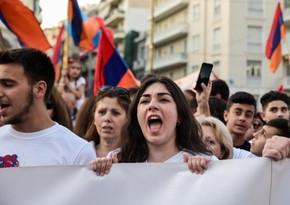 Ermənistan müxalifəti Paşinyanın istefası üçün hərbi vəziyyəti ləğv etdirmək istəyir
