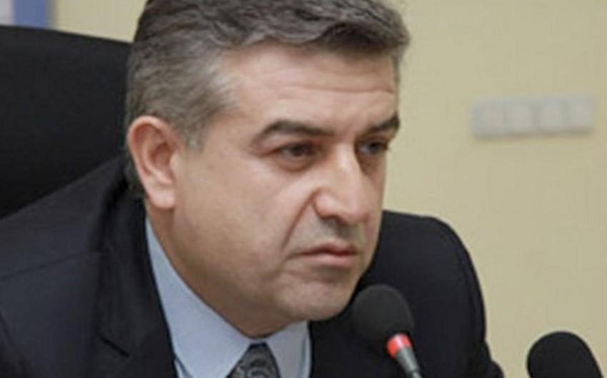 Serj Sarqsyan Ermənistana yeni baş nazir təyin edib