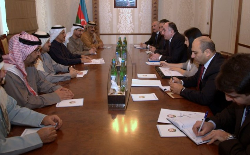 Azerbaijan and UAE discusses cooperation in investment projects