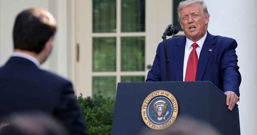 Trump: EU formed to take advantage of US