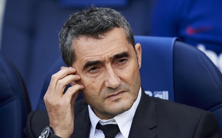 Ernesto Valverde Barselonadan təzminatın hamısını almayacaq