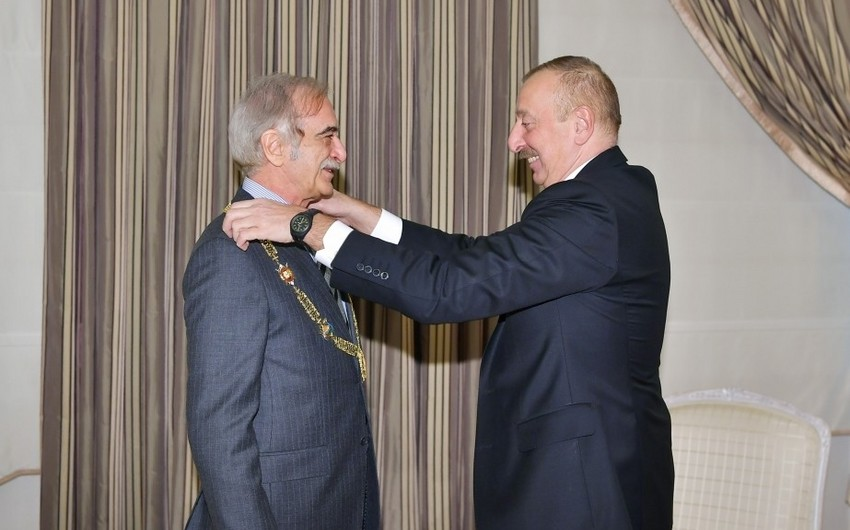 Prezident İlham Əliyev: Rusiya-Azərbaycan əlaqələrinin inkişafında sizin çox böyük rolunuz var