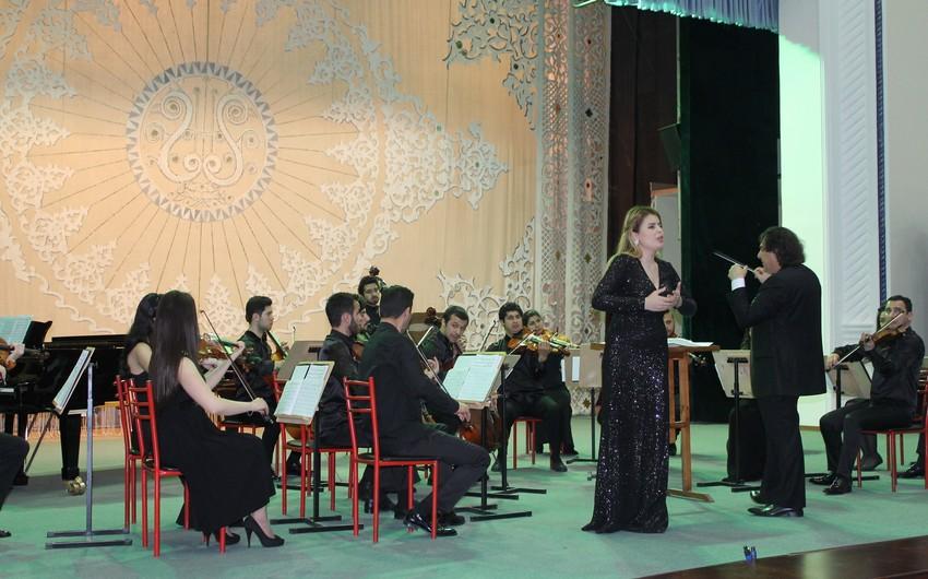 Baku Chamber Orchesta gənclər kamera orkestri Daşkənddə konsert verib
