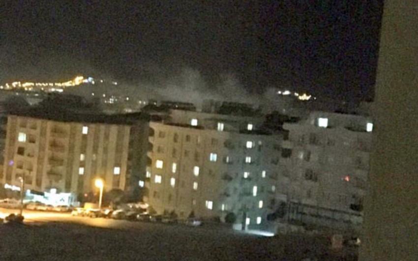 Türkiyədə güclü partlayış baş verib