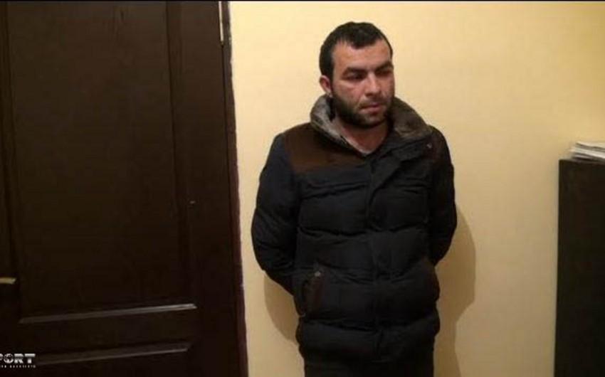 Şirvan şəhərində oğurluq akkumulyator satan şəxs tutulub - FOTO