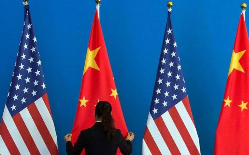 ABŞ-la Çin arasında ticarət sahəsində 5 memorandum hazırlanır