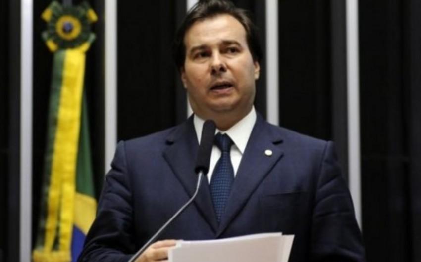Braziliya Deputatlar Palatasının sədri Azərbaycan Prezidentinin fəxri diplomu ilə təltif olunub