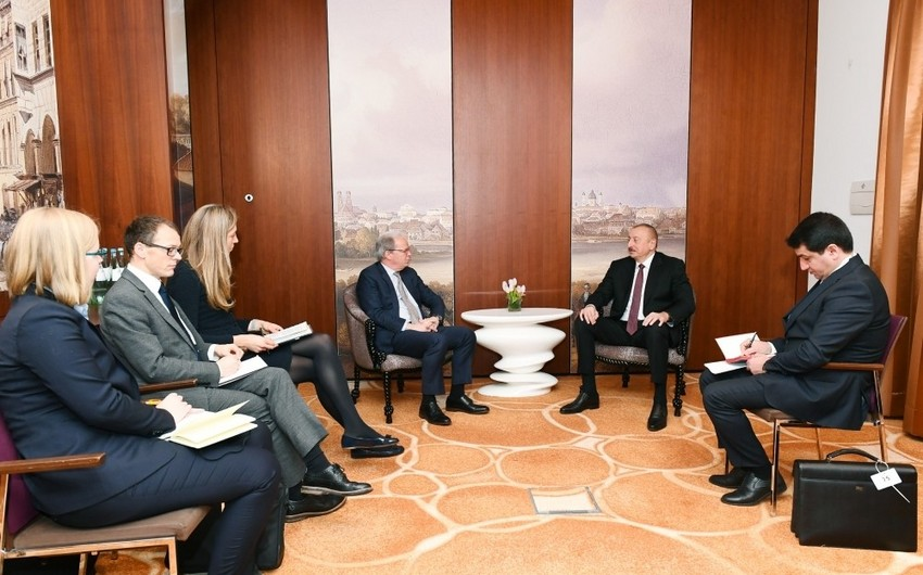 Prezident Dünya Bankının icraçı direktoru ilə görüşdü - YENİLƏNİB
