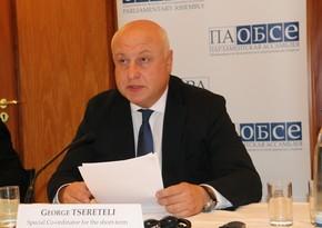 OSCE PA President speaks about Karabakh ceasefire