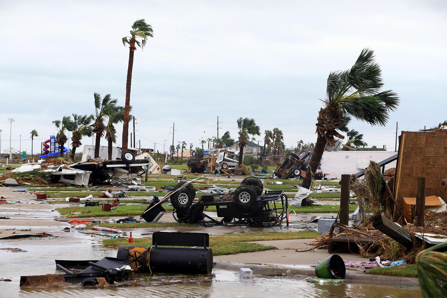 Azerbaijani nationals in US recommended not to visit regions suffering from hurricane Harvey