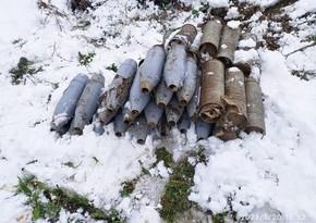 На освобожденных территориях обнаружили 124 снаряда