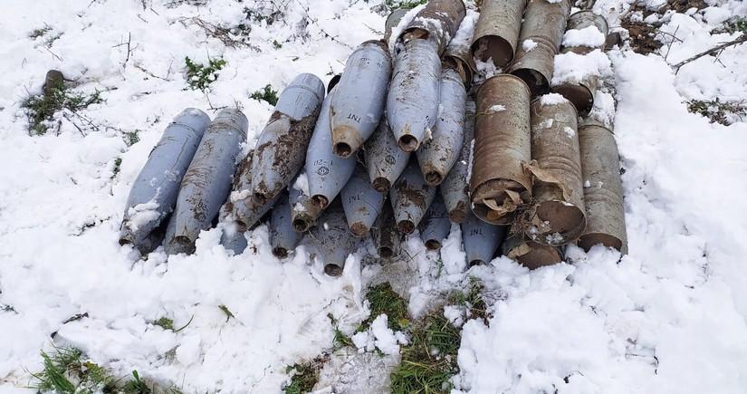 Ermənilərin cəbhəyanı ərazilərdə basdırdıqları minalar aşkarlandı