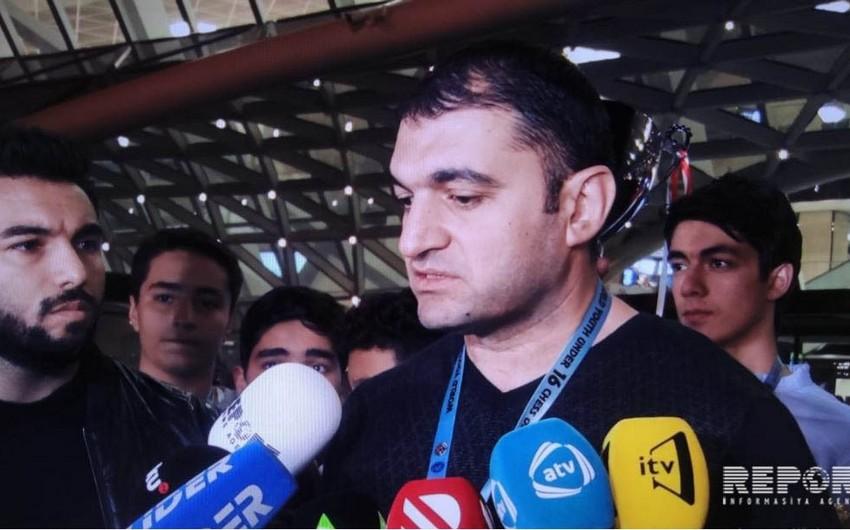 Fərid Abbasov: Olimpiadanı güclü rəqibləri yenərək qazandıq