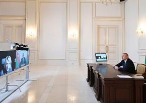 Prezident: Danışıqlar münaqişənin siyasi həllinə və ərazilərin boşaldılmasına gətirib çıxarmalıdır