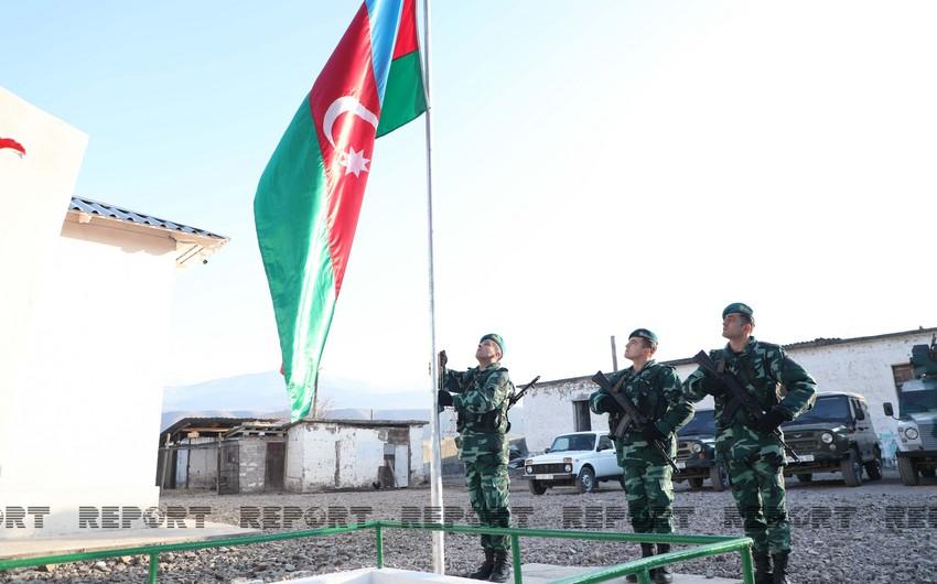 Поднятый на наших границах флаг больше не опустится