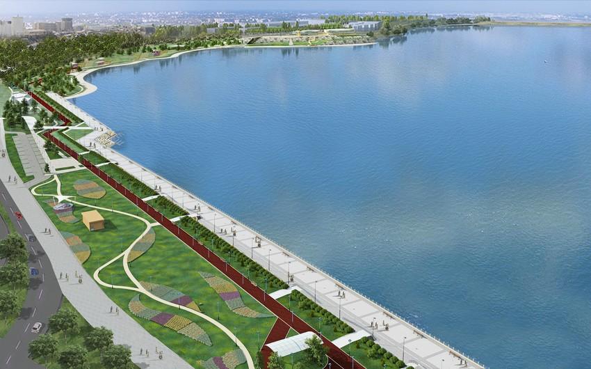На ландшафтные работы озера Беюкшор затратят 8 млн. манат