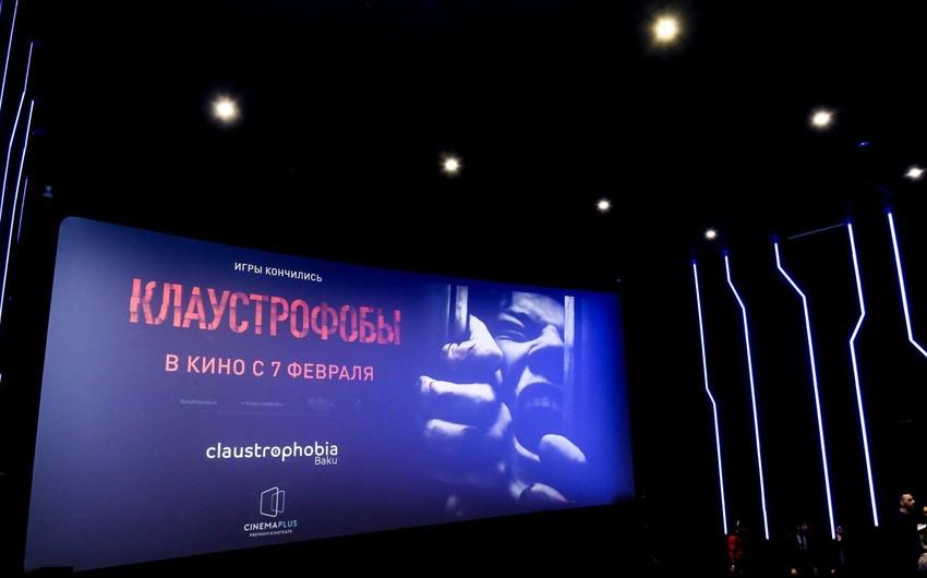 """""""CinemaPlus""""da """"Klaustrofoblar"""" trillerinin premyeradan öncə nümayişi olub - VİDEO"""