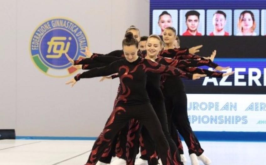 Azərbaycan akrobatları Avropa çempionatının finalına yüksəliblər