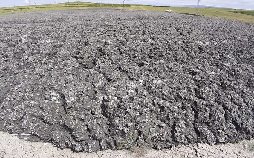 В Шемахе вновь произошло извержение вулкана - ФОТО - ОБНОВЛЕНО