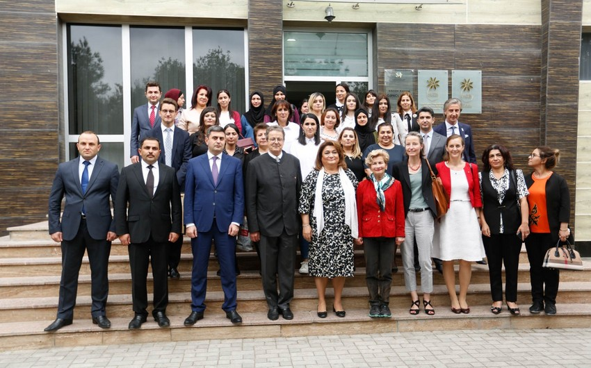 President of Council of States of Swiss Confederation visits Women's Resource Center in Baku