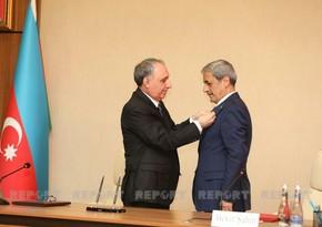 Kamran Əliyev Türkiyənin prokurorunu təltif etdi