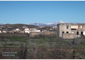 Video footage from Soltanli village of Jabrayil region