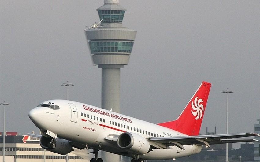 Gürcüstan aviaşirkətlərinə İraq və İranın hava məkanından istifadə etməmək tövsiyə olunub