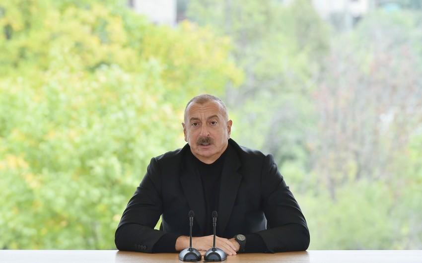"""Dövlət başçısı: """"Heç kim və heç nə bizim qabağımızda dura bilməz"""""""
