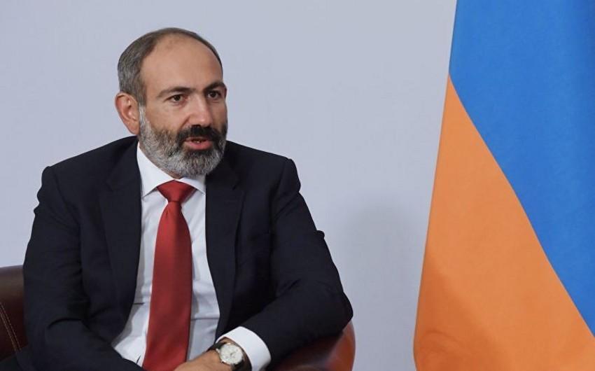 Pashinyan says he's in Armenia