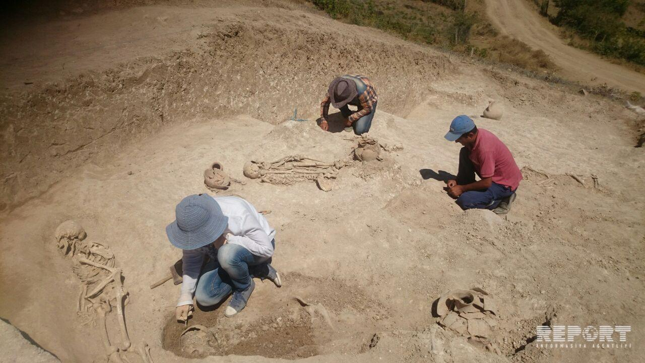 Ancient cemetery and settlement found in Lerik district - PHOTO