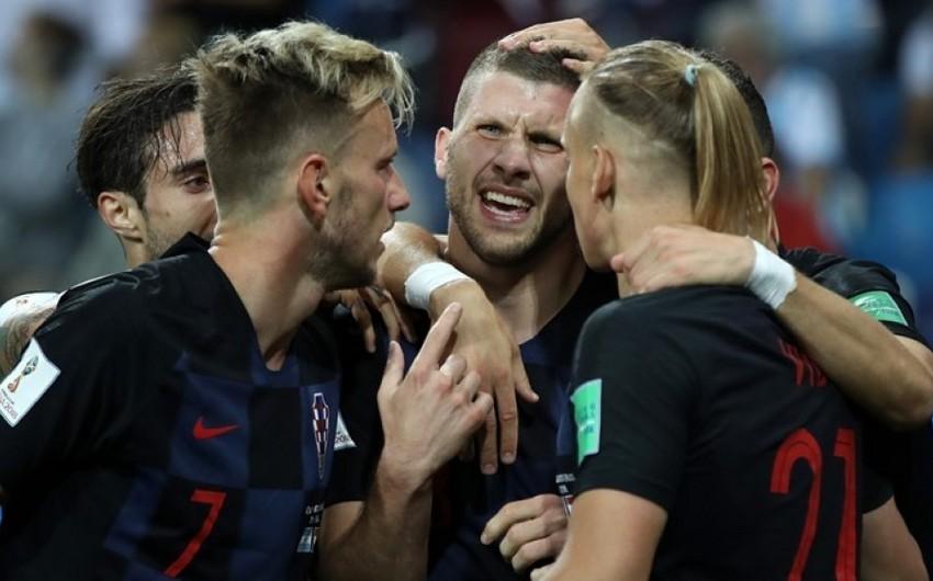 DÇ-2018: Xorvatiya Argentinanı darmadağın edərək 1/8 finala vəsiqə qazanıb