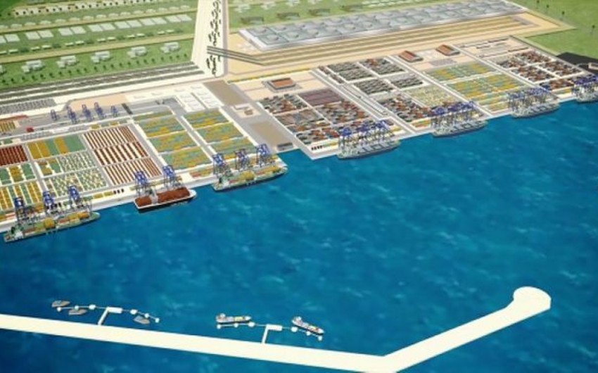 Gürcüstanda Anaklia dəniz limanının inşasına dair yeni tender elan olunacaq