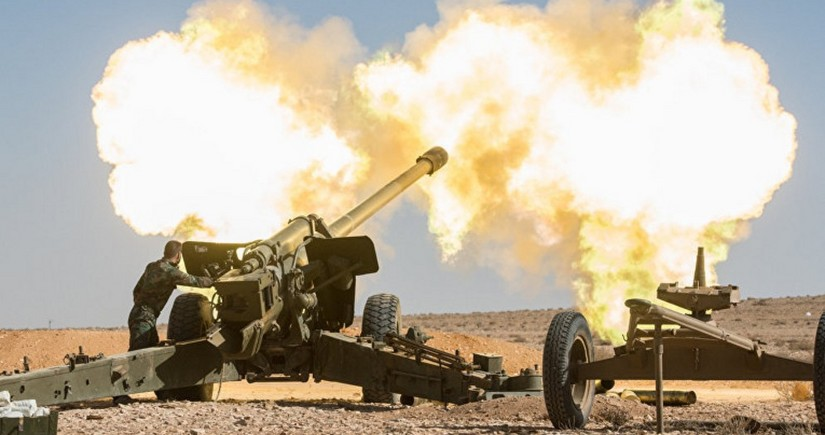 Армянские ВС подвергли артиллерийскому обстрелу подразделения Азербайджана