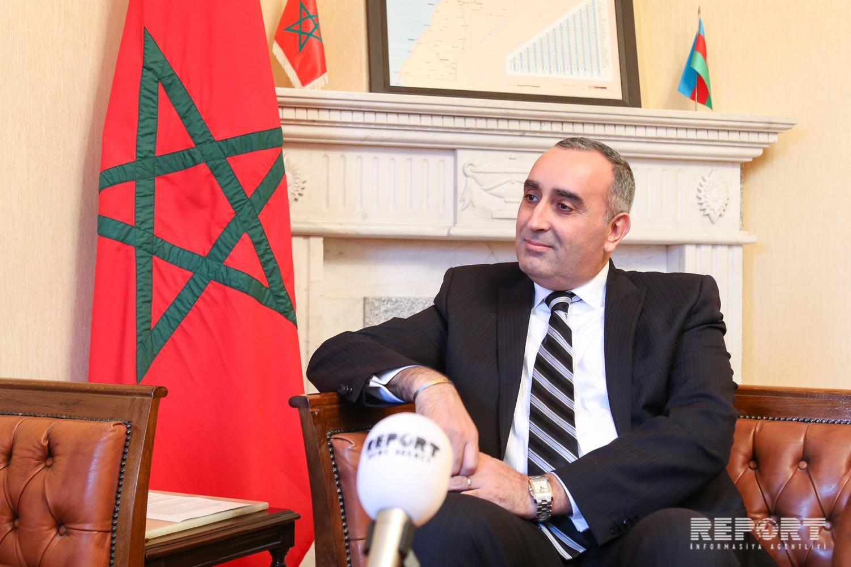 Посол: Cуществует большой потенциал в развитии экономических связей между Марокко и Азербайджаном - ИНТЕРВЬЮ