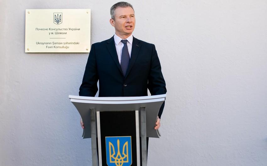Ukrayna səfiri: Ağdam Azərbaycanın vizit kartı olacaq