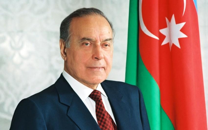 Azerbaijan celebrates 98th anniversary of birth of national leader Heydar Aliyev