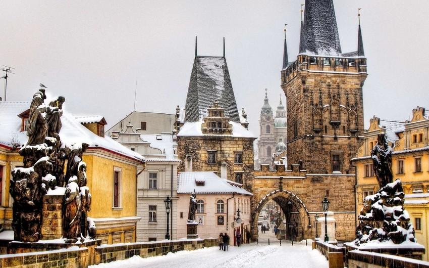 Çexiyada 3 nəfər şaxtadan donaraq ölüb