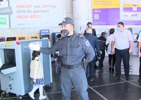 Bakı metrosunda reyd keçirilib